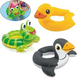 Cute Baby Kids Float Seat Boat Inflatable Swim Swimming Ring