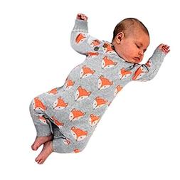 Cute Newborn Clothes Charberry Infant Baby Girl Boy Fox Prin