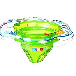 Baby Double Airbags Floating PVC Inflatable Baby Swim Float