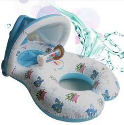Double Circle Baby Kid Inflatable Float Boat Inflatable Swim