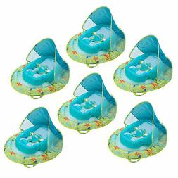 SwimWays Fabric Infant Baby Spring Swimming Pool Float with