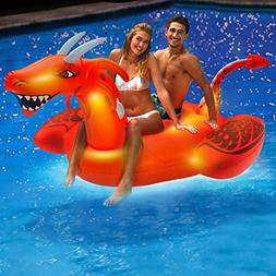Aqua Giant 8 Foot, Flash Scorch The Dragon Inflatable Pool F