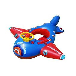 Baby Float, Botitu Aerated Inflatable Pool Float for Kids wi