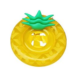 UCLEVER Baby Float Inflatable Pineapple Swimming Ring Pool T