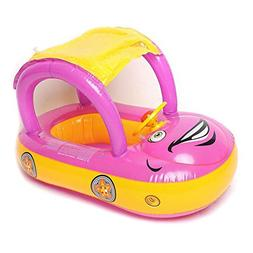 JTENGYAO Baby Float Seat Boat with Inflatable Ring,Adjustabl