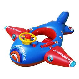 JTENGYAO Baby Float Seat Boat with Inflatable Airplane Swim