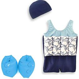 Wowelife Baby Float Suit with Arm Bands Toddler Floating Swi