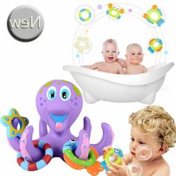 Floating Bath Toys Baby Octopus Kids Baby Infant Toddlers Le