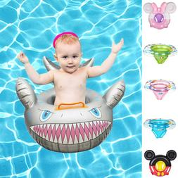 Fun Cartoon Baby Swim Ring Toddler Inflatable Float Seat for