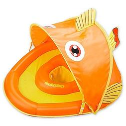 Aqua Leisure Grow-with-Me SunShade Gold-E-Fish Baby Float
