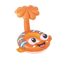 H2OGO! Clown Fish Baby Care Seat Inflatable Pool Float, Sun