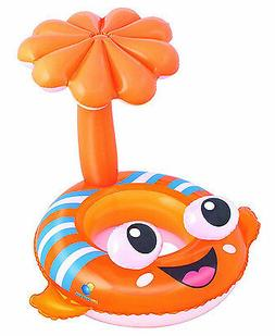 H2OGO! Clown Fish Baby Care Seat Inflatable Pool Float
