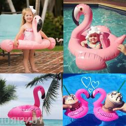 Hot Baby Kids Flamingo Inflatable Float Seat Water Toy Pool
