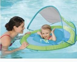 SWIMWAYS INFANT BABY SPRING FLOAT WITH SUN CANOPY NEW Step O