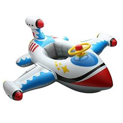 Inflatable Airplane Yacht Baby Kids Toddler Infant Swimming