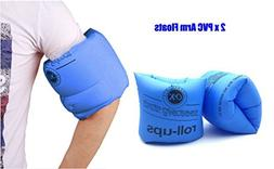 Topsung Inflatable Arm Bands Floatation Water Wings Swimming