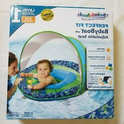 inflatable baby boat float sunshade sun canopy