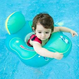 HANTAJANSS Inflatable Baby Float With Backrest Inflatable Sw