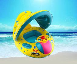 Inflatable Baby Kid Float Seat Boat Swimming Pool Ring Wheel