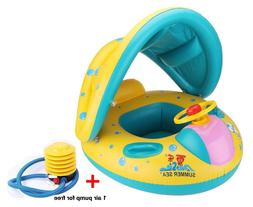 inflatable baby pool float swimming ring baby