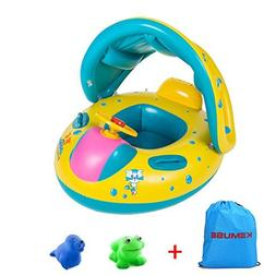 Kemuse Inflatable Baby Toddler Pool Float Swimming Ring with