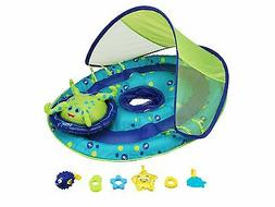 SwimWays Inflatable Baby Spring Octopus Pool Float Activity