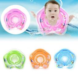 Inflatable Circle Newborn Neck Float Infant Baby Swimming Ri