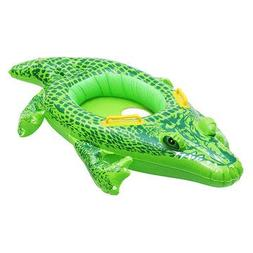Inflatable Kids Baby Crocodile Swimming Ring Float Boat Seat