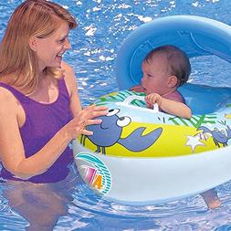 Sinwo Inflatable Mother Baby Soft Swim Float Raft Kid's Chai