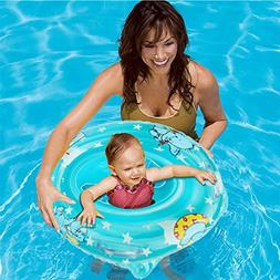 Inflatable Baby Pool Float Bath Seat Swimming Ring For Kids