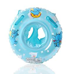 UCLEVER Baby Inflatable Pool Float Infant Elephant Seat Boat