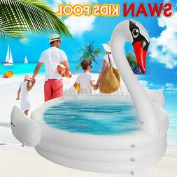 Inflatable Pool Swan Pool Kids Children Infant Swimming Pool