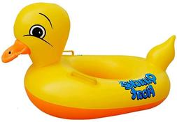 Inflatable Rubber Duck Pool Float for Kids/baby, Swimming Po