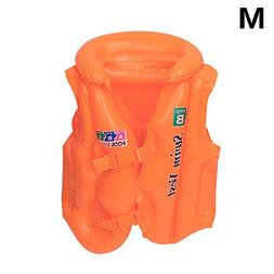 Coohole Kid Baby Adult Inflatable Sea Swimming Pool Vest Flo