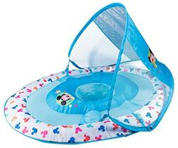 SwimWays Inflatable Infant Baby Spring Pool Float w/Canopy,