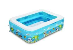 PANDA SUPERSTORE Inflatable Swim Pool for Toddle Outdoor Poo