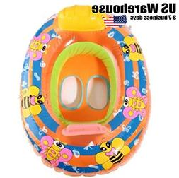 Inflatable Baby Swimming Ring Pool Beach Swimming Float for