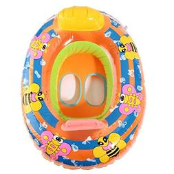 Pink Lizard Inflatable Baby Swimming Ring Pool Beach Swimmin