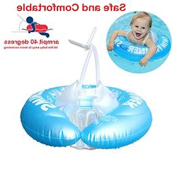 QIAONIUNIU Baby Inflatable Swimming Ring- Shoulder Strap Des