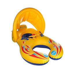 Inflatable Baby Swimming Ring,Mommy and Baby Parent-Child Do