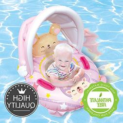 Nai-B K Hamster Cushion Parasol Baby Walker Swim tube Pink,