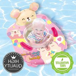 Nai-B Inflatable Pool Float for Kids and Toddler, Baby Waist