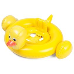 SunnyLIFE KID FLOAT Duck Inflatable Pool Beach Seat Raft Bab