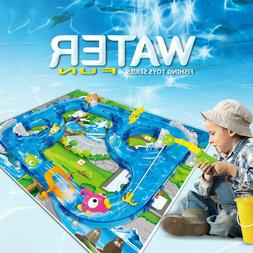 Kids Assembly Track Fishing Waterway Game Park Children Floa