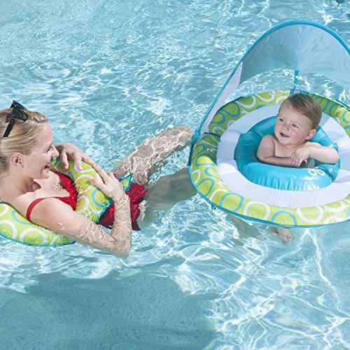SwimWays Baby Spring Float Mommy Me Canopy