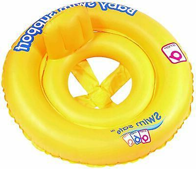 baby child float double ring raft chair