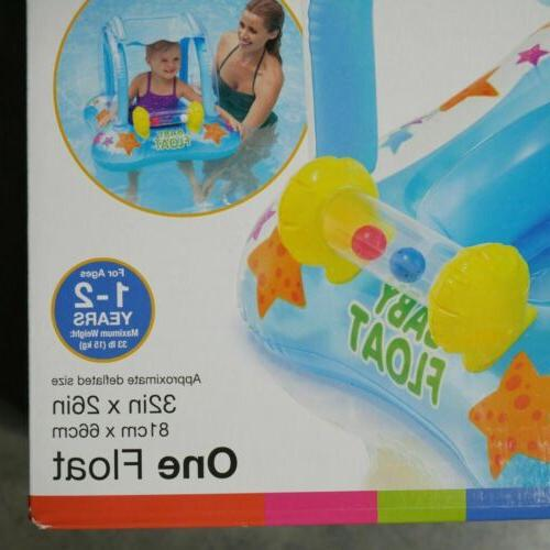 Baby Pool Canopy Infant Kiddie Swimming 1-2 Yrs