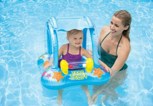 Baby Pool + Canopy Swimming 1-2 Yrs