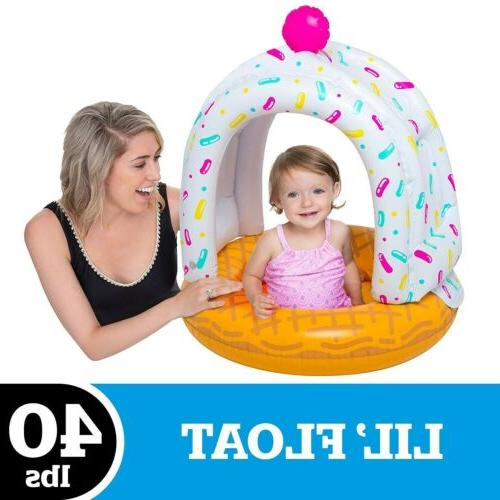 Baby Float Lil Canopy Ice Cone Cutie 12-36 Raft Water
