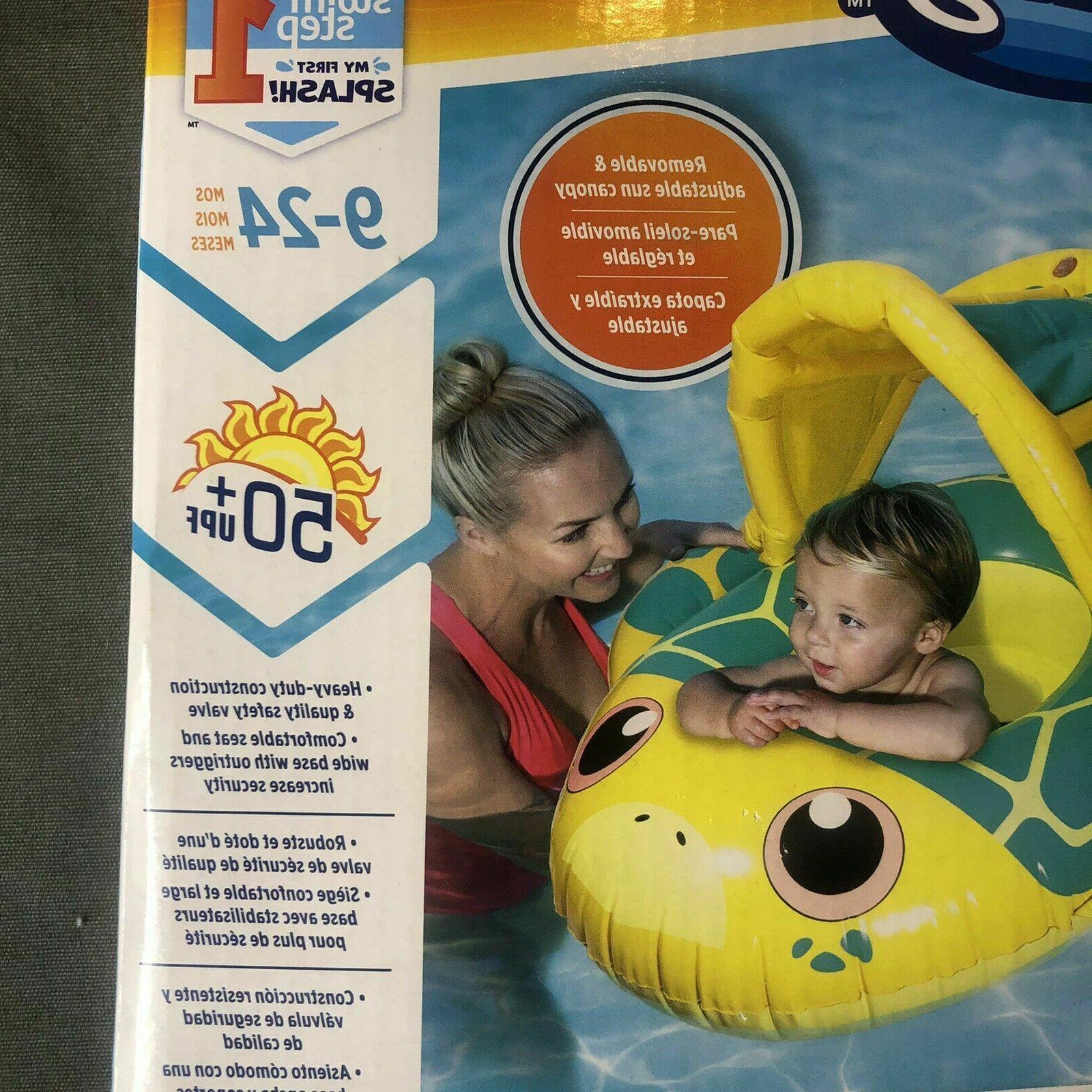 BABY FLOAT SUN CANOPY BABY BOAT FLOATS - 24 FIRST